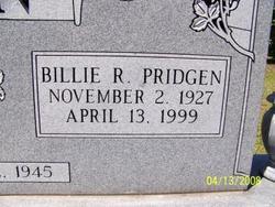 Billie Ruth <I>Pridgen</I> Allen