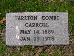 Tarlton Combs Carroll