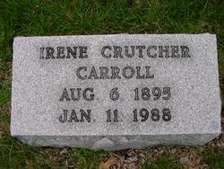 Irene <I>Crutcher</I> Carroll