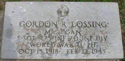 SSGT Gordon Robert Lossing