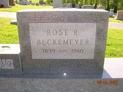 Rose Regina <I>Weber</I> Beckemeyer