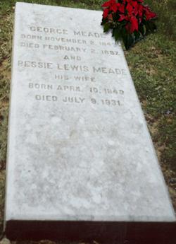"Elizabeth Morris ""Bessie"" <I>Lewis</I> Meade"