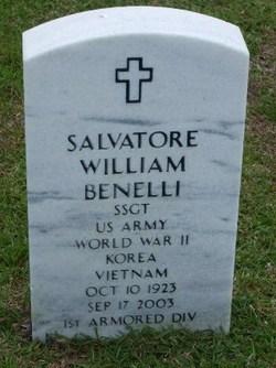SSGT Salvatore William Benelli