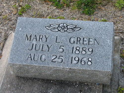 Mary L Green