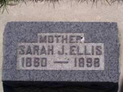 Sarah Jane <I>Barker</I> Ellis
