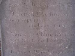 Jefferson F Addington
