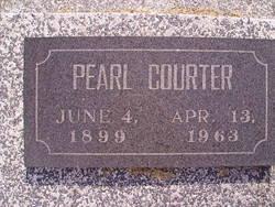 Pearl <I>Carter</I> Courter