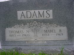 Mabel B. <I>Bowman</I> Adams