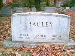 Jennie T <I>Beecher</I> Bagley
