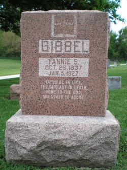 Fannie S Gibbel