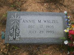 Annie Magdalene <I>Richter</I> Walzel