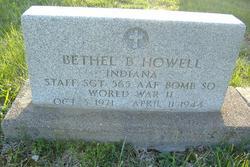 SSGT Bethel B Howell