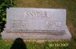 Bessie G <I>Minnick</I> Snyder