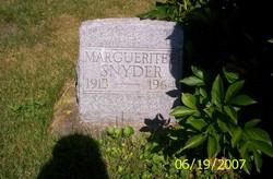 Marguerite Snyder