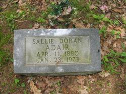 "Sarah A ""Sallie"" <I>Doran</I> Adair"
