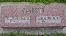 Elizabeth <I>Cook</I> Smith
