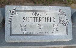 Opal Dorlean <I>Davis</I> Sutterfield