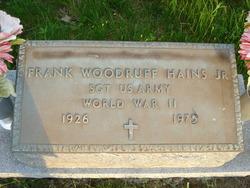 Frank Woodruff Hains Jr.