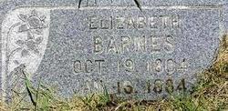 Elizabeth <I>Simpson</I> Barnes