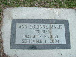 "Ann Corinne ""Connie"" <I>Sturbitz</I> Maris"