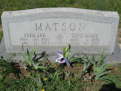 Fred Lee Matson