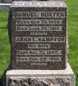 Sarah Louisia <I>Hampton</I> Porter
