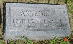 Emmet Franklin Antrobus