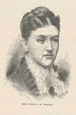 Rebecca M <I>Wright</I> Bonsal