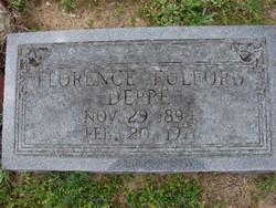 Florence Marion <I>Fulford</I> Deppe