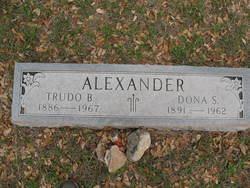 Dona Susan <I>Crippen</I> Alexander