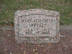 Mary Elizabeth Appel