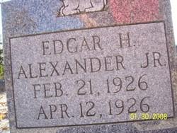 Edgar Horris Alexander, Jr