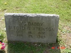 """Buford Daniel """"Big Daddy"""" Atkinson"""