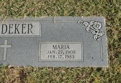 Maria <I>Richter</I> Boedeker
