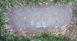 Ruth A. Tabeling