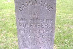 Catharine M Rodenberg