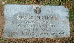 Capt Clark Nichols