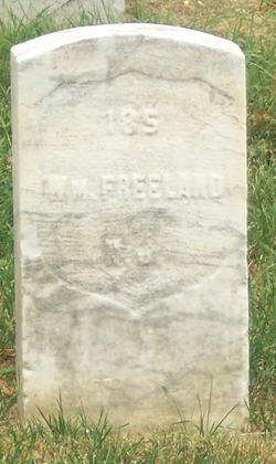 Pvt William Freeland