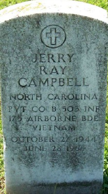 Pvt Jerry Ray Campbell