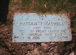 PFC Harold F. Caswell