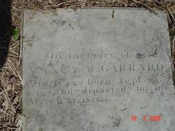 Nancy M. <I>Brawner</I> Garrard