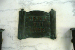 Virginia Ruth <I>Wilcox</I> Mathis