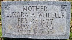 Luxora Ann <I>Jenkins</I> Wheeler