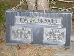 Adaline <I>Dana</I> Horrocks