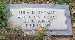 Lula Mae <I>Jackson</I> Thomas