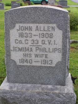 Jemima <I>Phillips</I> Allen