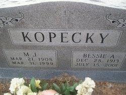 Bessie Ann <I>Tepera</I> Kopecky