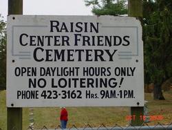Raisin Center Friends Cemetery