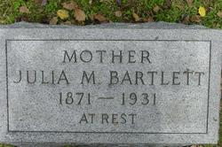 Julia <I>McAlister</I> Bartlett