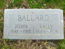 """Sarah Ann """"Sally"""" <I>Gibson</I> Ballard"""